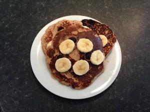 Oat Banana Protein Pancake