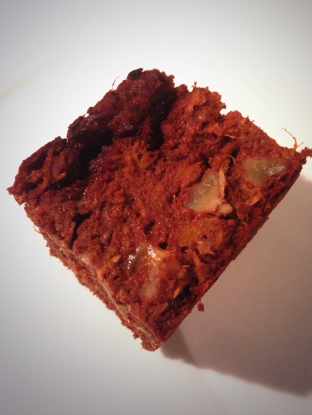 Choc Sweet Potato Brownie