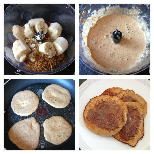Protein Pancakes - Process