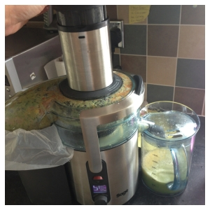 Sage Nutri Juicer Plus - Juicing2