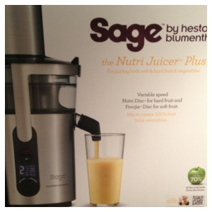 Sage Nutri Plus Juicer