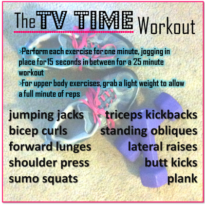 the tv time workout
