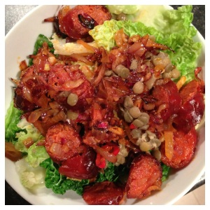 Chorizo & Cabbage Salad Final
