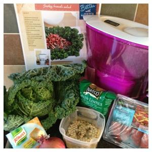 Chorizo & Cabbage Salad