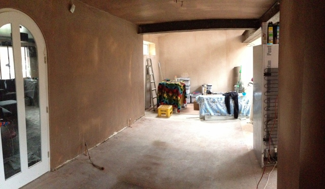 Dining Room / Kids chill out area / Sun lounge plastered