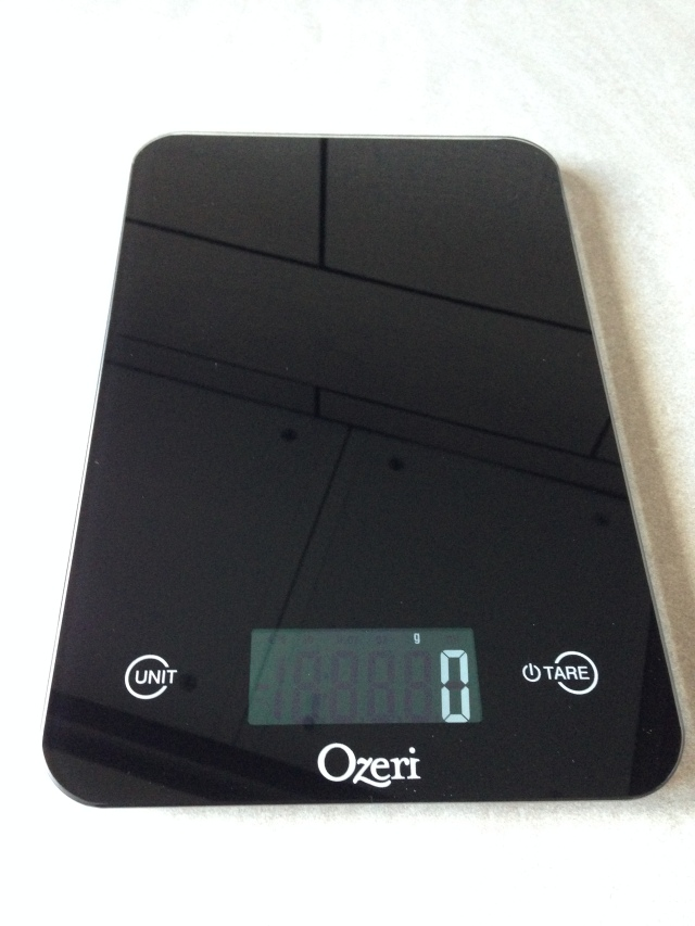 Ozeri Scale Full View